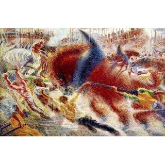 cuadros abstractos - Cuadro -La ciudad se levanta- - Boccioni, Umberto