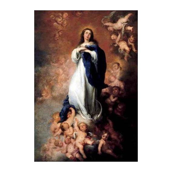 cuadros religiosos - Cuadro -Inmaculada Concepcióon de Soult-