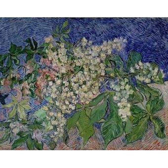 Cuadro -Ramas de castaño en flor-