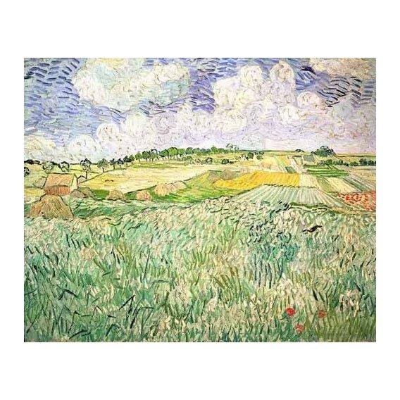 cuadros de paisajes - Cuadro -El claro de Auvers-