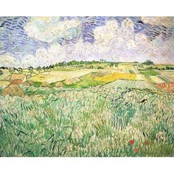 - Cuadro -El claro de Auvers- - Van Gogh, Vincent
