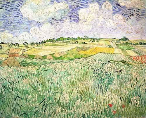 cuadros-de-paisajes - Cuadro -El claro de Auvers- - Van Gogh, Vincent