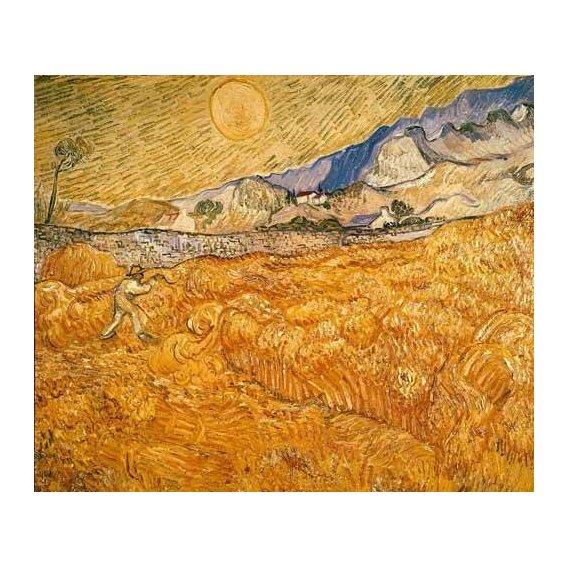 cuadros de paisajes - Cuadro -El segador-