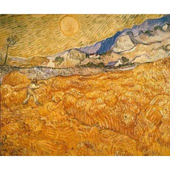 - Cuadro -El segador- - Van Gogh, Vincent