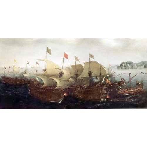 Cuadro -Batalla Naval-