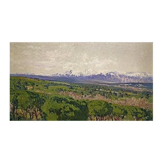 cuadros de paisajes - Cuadro -Guadarrama - Madrid-