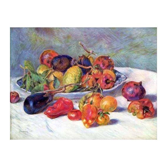 cuadros decorativos - Cuadro -Frutos del Mediterraneo -