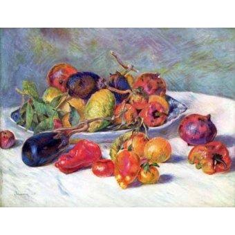 - Cuadro -Frutos del Mediterraneo - - Renoir, Pierre Auguste
