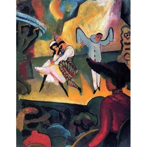 cuadros de retrato - Cuadro -Ballet ruso-