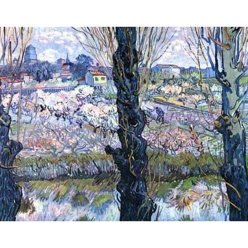cuadros de paisajes - Cuadro -Vista de Arles-