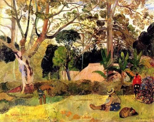 cuadros-de-paisajes - Cuadro -Te raaú rahi- - Gauguin, Paul