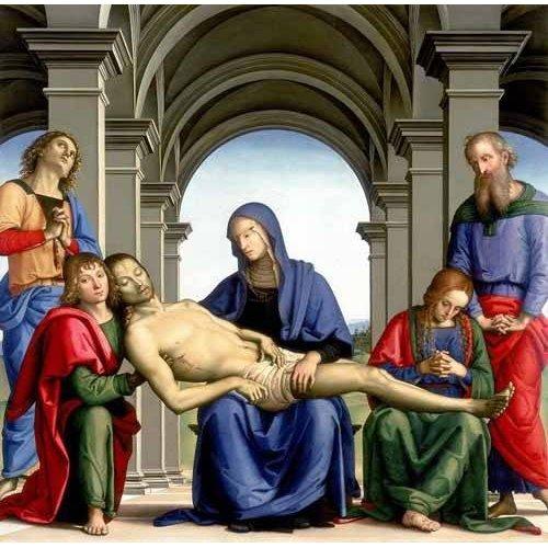 cuadros religiosos - Cuadro -La Piedad-