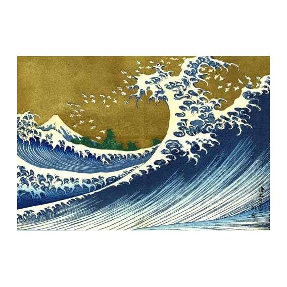 cuadros etnicos y oriente - Cuadro -Gran ola-