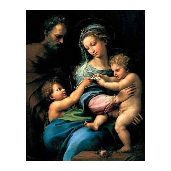 cuadros religiosos - Cuadro -La Virgen de la Rosa-