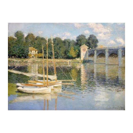 cuadros de paisajes - Cuadro -Puente de Argenteuil-