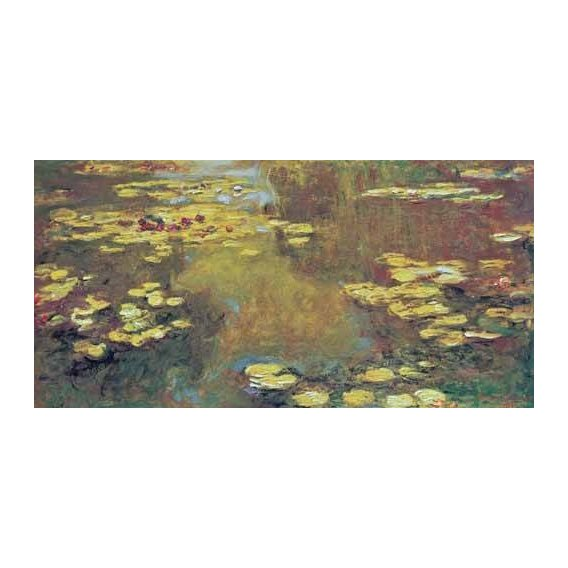 cuadros de paisajes - Cuadro -The Pond of Water Lilies, 1919-