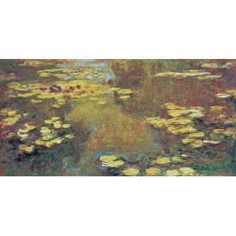 - Cuadro -The Pond of Water Lilies, 1919- - Monet, Claude