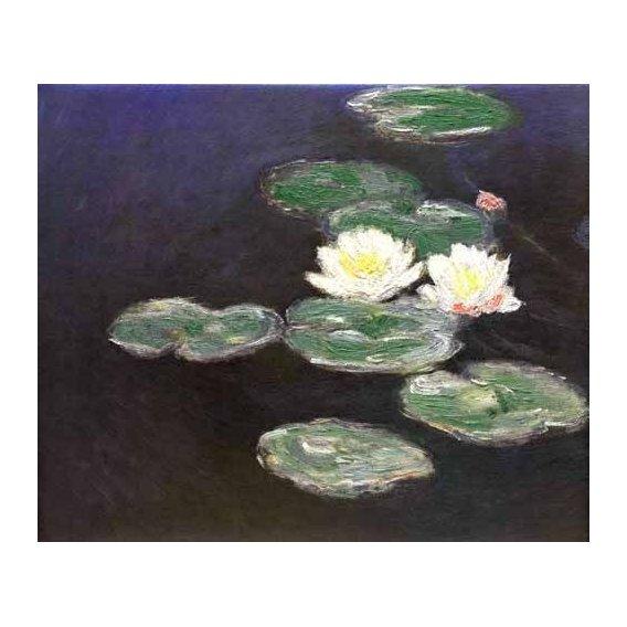 cuadros de paisajes - Cuadro -Nympheas (Waterlilies)-