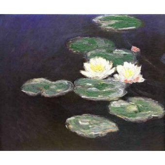 - Cuadro -Nympheas (Waterlilies)- - Monet, Claude