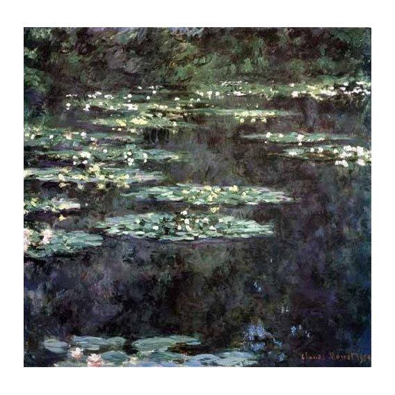 cuadros de paisajes - Cuadro -Nenúfares (Water Lilies), 1904-