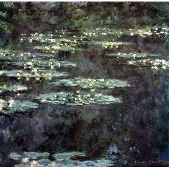 Cuadro -Nenúfares (Water Lilies), 1904- - Monet, Claude
