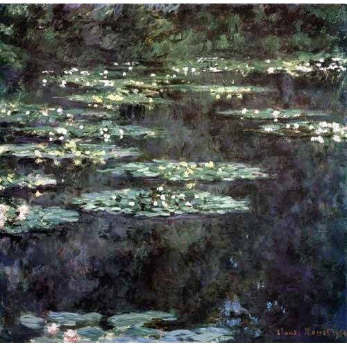 Cuadro -Nenúfares (Water Lilies), 1904-