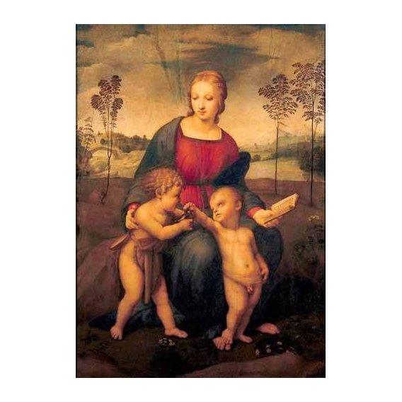 cuadros religiosos - Cuadro -La Virgen del Jilguero-