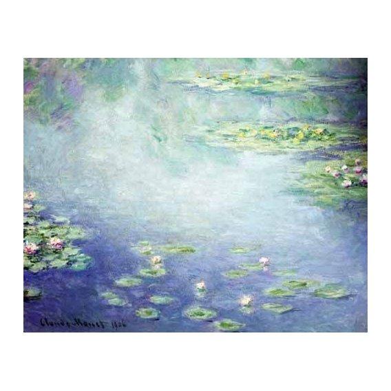 cuadros de paisajes - Cuadro -Nenúfares-