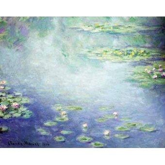 - Cuadro -Nenúfares- - Monet, Claude