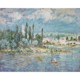 cuadros de marinas - Cuadro -Thunderstorms- - Monet, Claude