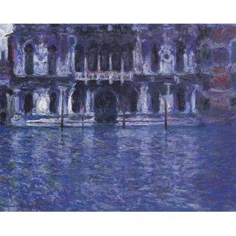 cuadros impresionistas - Cuadro -El Palazzo Contarini- - Monet, Claude