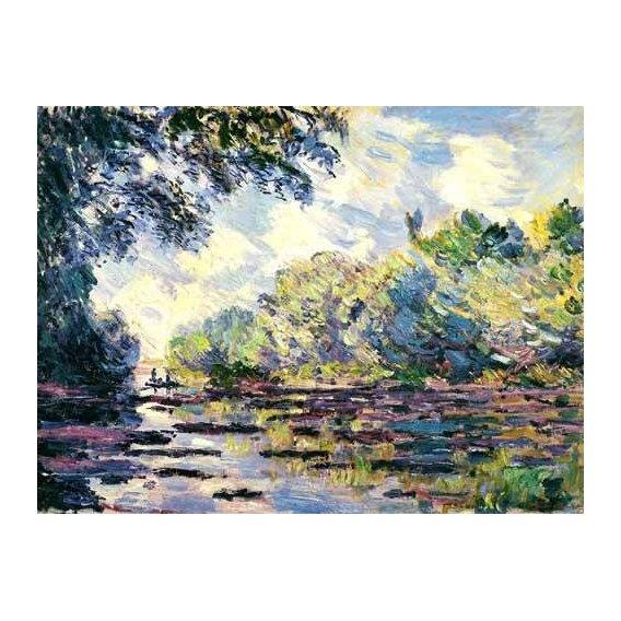 cuadros de paisajes - Cuadro -El Sena, cerca de Giverny-