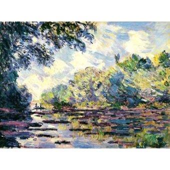 - Cuadro -El Sena, cerca de Giverny- - Monet, Claude