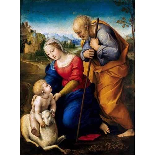 Cuadro -La Sagrada Familia del Cordero-