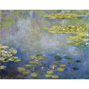 - Cuadro -Nenufares, Giverny- - Monet, Claude