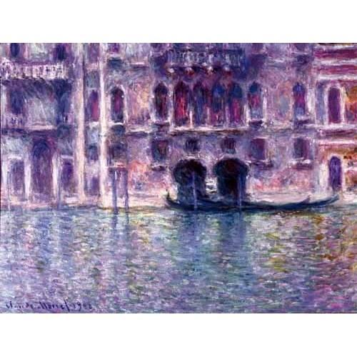 cuadros de paisajes - Cuadro -El Palazzo de Mula, Venecia, 1908-