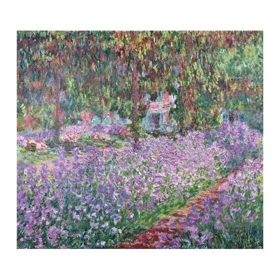 cuadros de paisajes - Cuadro -El jardin del artista en Giverny-