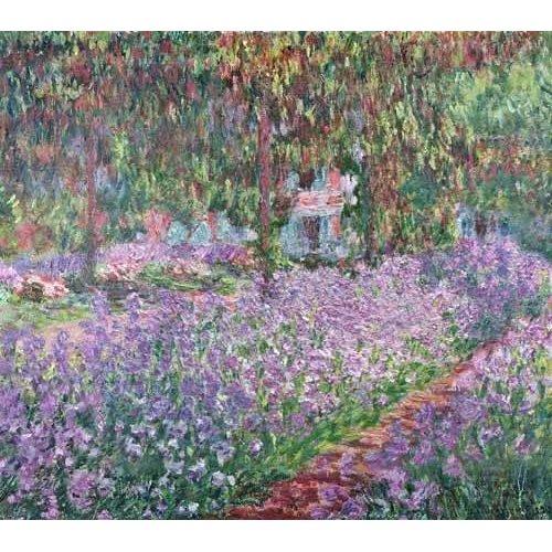 Cuadro -El jardin del artista en Giverny-