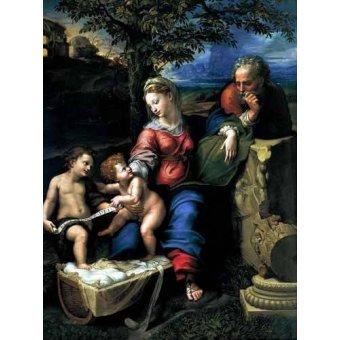 - Cuadro -La Sagrada Familia del Roble- - Rafael, Sanzio da Urbino Raffael