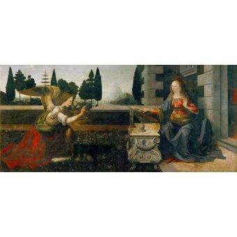 - Cuadro -La Anunciación- - Vinci, Leonardo da