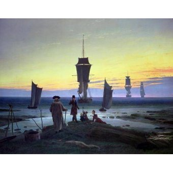 cuadros de marinas - Cuadro -The Stages of Life, 1835- - Friedrich, Caspar David