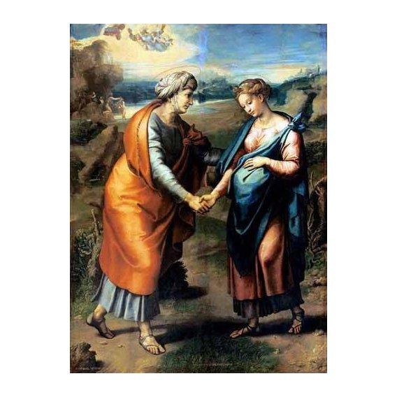 cuadros religiosos - Cuadro -La Visitación-
