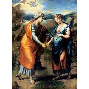 - Cuadro -La Visitación- - Rafael, Sanzio da Urbino Raffael