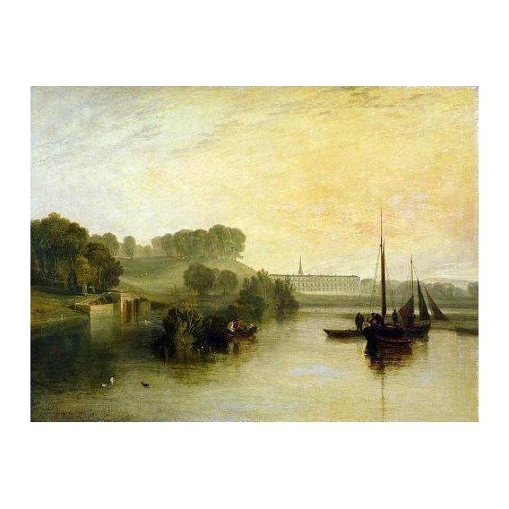 cuadros de marinas - Cuadro -Petworth, Sussex, The Sea of the Earl of Egremont-
