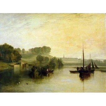 cuadros de marinas - Cuadro -Petworth, Sussex, The Sea of the Earl of Egremont- - Turner, Joseph M. William