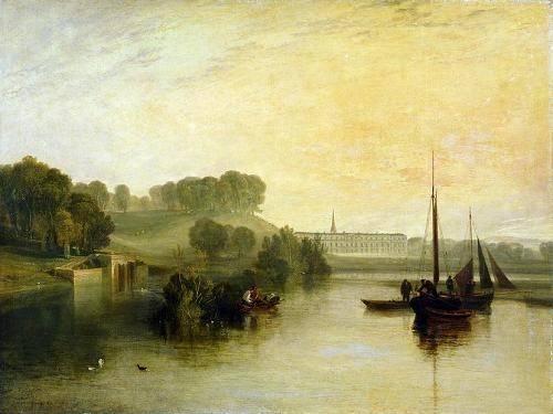cuadros-de-marinas - Cuadro -Petworth, Sussex, The Sea of the Earl of Egremont- - Turner, Joseph M. William