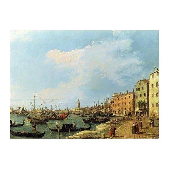 cuadros de marinas - Cuadro -The Riva Degli Schiavoni, 1724-30-