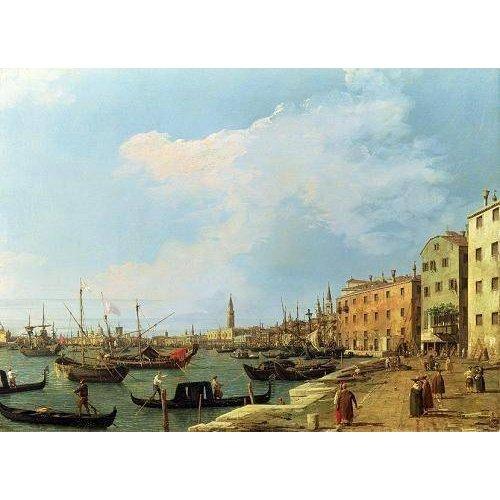 Cuadro -The Riva Degli Schiavoni, 1724-30-