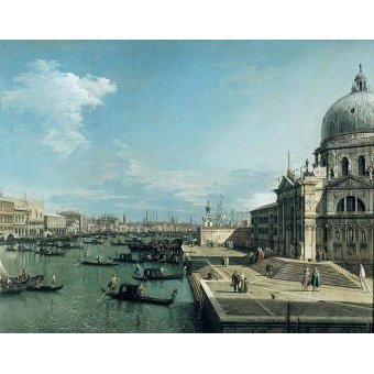 - Cuadro -The Entrance to the Grand Canal, Venice- - Canaletto, Giovanni A. Canal