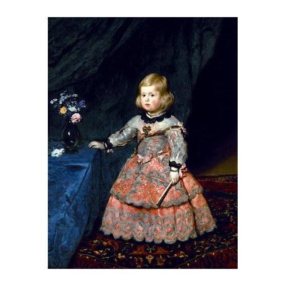 cuadros de retrato - Cuadro -Retrato de la Infanta Margarita a la edad de tres años-